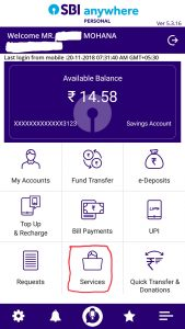 Cif number sbi account anywhere app