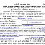 ESIC Form 37 Filled Sample Download
