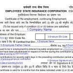 ESIC Form 37 Filled Sample Download