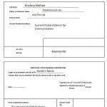 ESI Form 7B Filled Sample